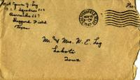 Jimmy Ley to Mr. and Mrs. W. E. Ley - November 15, 1942