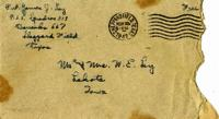 Jimmy Ley to Mr. and Mrs. W. E. Ley -  November 25, 1942