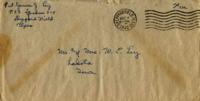 Jimmy Ley to Mr. and Mrs. W. E. Ley - December 4, 1942
