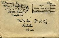 Jimmy Ley to Mr. and Mrs. W. E. Ley - December 27, 1942
