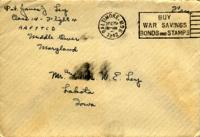 Jimmy Ley to Mr. and Mrs. W. E. Ley - December 29, 1942