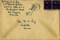 Jimmy Ley to Mr. W. E. Ley - February 2, 1943