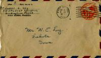 Jimmy Ley to Dad, Baby, Ruth, and Bill - February 13, 1943
