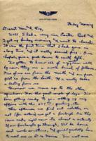 Jimmy Ley to Mr. and Mrs. W. E. Ley - April 30, 1943