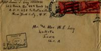 Jimmy Ley to Mr. and Mrs. W. E. Ley - August 23, 1943