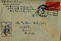 Jimmy Ley to Mr. and Mrs. W. E. Ley - December 2, 1943