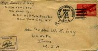 Jimmy Ley to Mr. and Mrs. W. E. Ley - February 14, 1944
