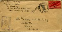Jimmy Ley to Mr. and Mrs. W. E. Ley - February 17, 1944