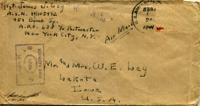 Jimmy Ley to Mr. and Mrs. W. E. Ley - February 22, 1944