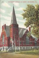 University Church of Christ, Des Moines, Iowa