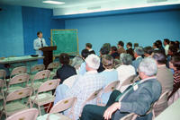 "Side View of the ""Grinnell in the '80s"" Lecture"