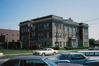 Grinnell High School in 1980