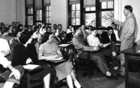 Sociology Class with John Burma, 1950