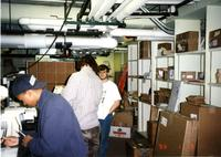 Carnegie Hall Mail Room, 1996