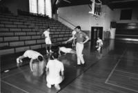 Exercising with Coach Dick Young, 1960s