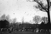 Balloon Release at a Peace Demonstration
