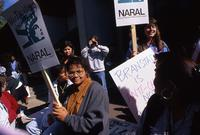 NARAL Protest, October 1990