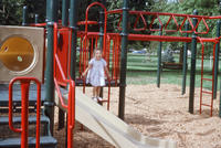A Child on New Central Park Playground
