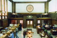 A View of the Lobby of Merchants' National Bank