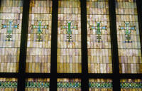 Stained Glass Windows in Merchants' National Bank