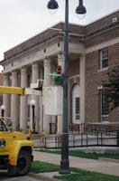 Installation of Street Pole Hardware