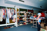 Young Boy in Second Mile Thrift Shop