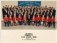 Grinnell Community High School Band 1972
