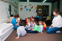 Story Time at Grinnell Community Daycare Center
