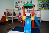 Children Playing at  Grinnell Community Daycare Center