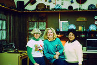 Echo Jansen, Susan Thorndike, and Maricella Pape in Santa's Kitchen