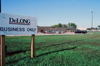 DeLONG Business Only Sign