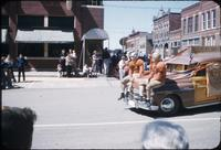 1953 Labor Day Parade Looking West on Commerical