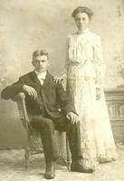 Berger and Mabel Stemsrud Wedding Portrait