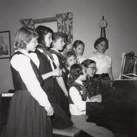 Camp Fire Girls Singing