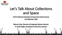 Let's Talk About Collections and Space.