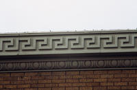Close-up of Ornamentation on Spurgeon's Building