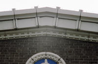 Cornice on Masonic Temple