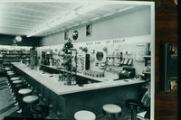 Soda Fountain at Cunningham Drug