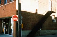 Alley on 4th Avenue With Staircase