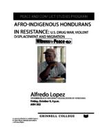 Afro-indigenous Hondurans in Resistance : U.S. Drug War, Violent Displacement and Migration