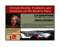 Climate Reality : Problems and Solutions on the Road to Paris