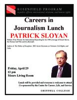 Careers in Journalism Lunch