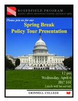 Spring Break Policy Tour Presentation