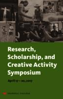Research, Scholarship, and Creative Activity Symposium 2017