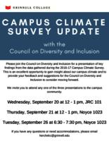Campus Climate Survey Update