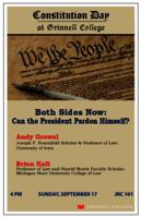Both Sides Now : Can the President Pardon Himself?