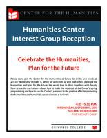 Celebrate the Humanities, Plan for the Future