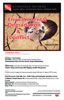 Environmental Degradation & Conflict