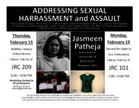 Addressing Sexual Harrassment and Assault