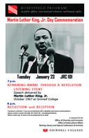 Martin Luther King, Jr. Day Commemoration